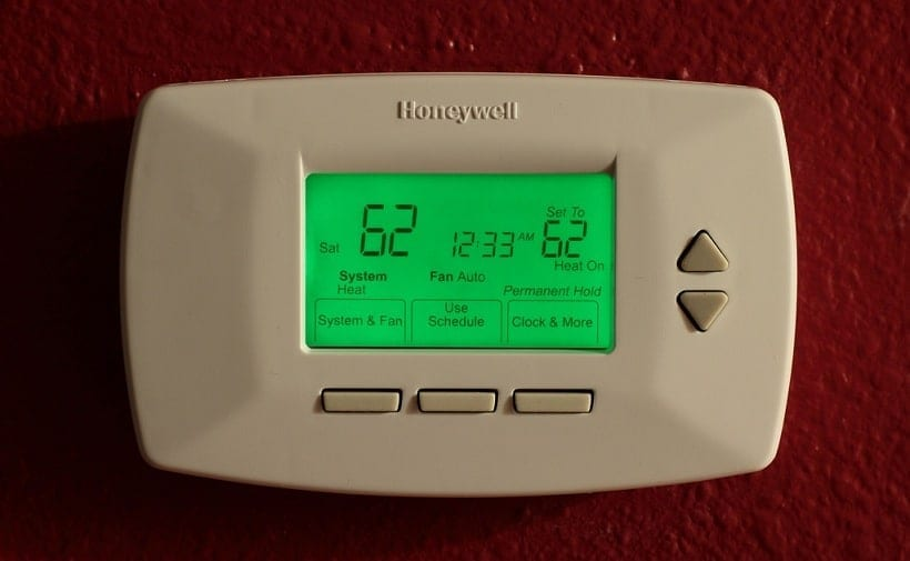 example of programmable thermostat in Reno Home