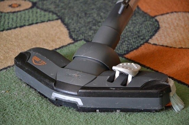 a vacuum one of the HVAC maintenance tips of pets owner