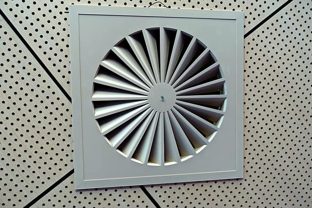 example of air conditioner vents